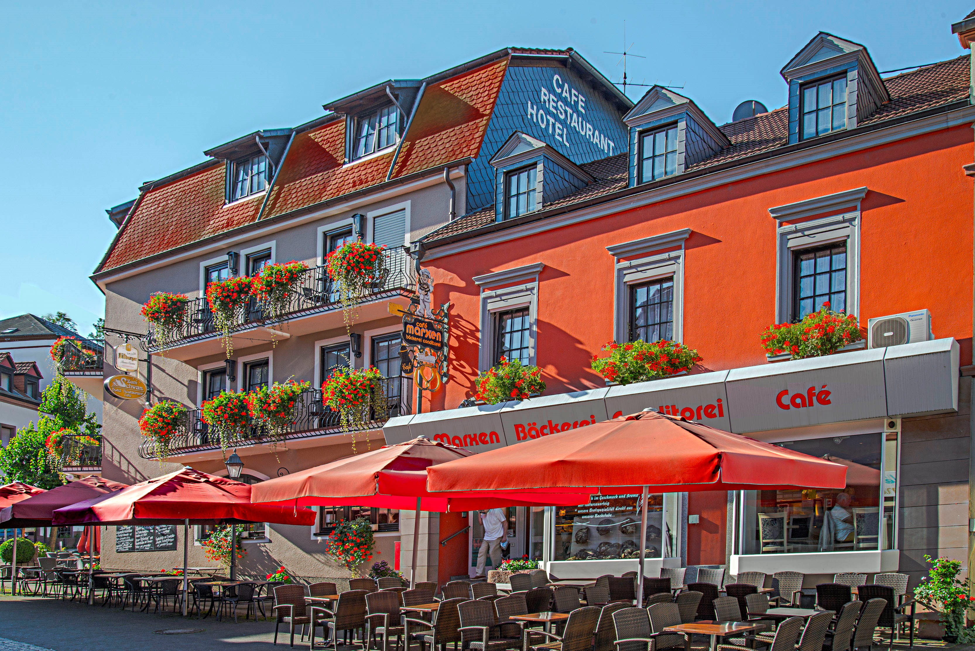 Willkommen Hotel Restaurant Zum Schwan Mettlach